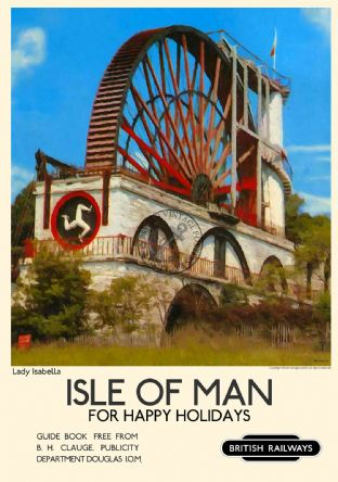 Isle of Man, Laxey Wheel